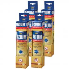 Bình xịt khử mùi Ozium Air Sanitizer Spray 3.5 oz (99g) Vanilla - OZM-23-4packs