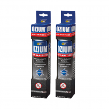 Bình xịt khử mùi Ozium Air Sanitizer Spray 3.5 oz (99g) New Car-OZM-22-2packs