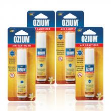 Bình xịt khử mùi Ozium Air Sanitizer Spray 0.8 oz (22g) Vanilla-OZ-23-4packs