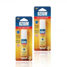 Bình xịt khử mùi Ozium Air Sanitizer Spray 0.8 oz (22g) Vanilla-OZ-23-2packs