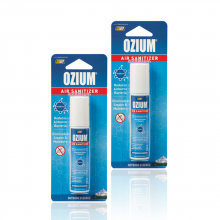 Bình xịt khử mùi Ozium Air Sanitizer Spray 0.8 oz (22g) Outdoor Essence-OZ-31-2packs
