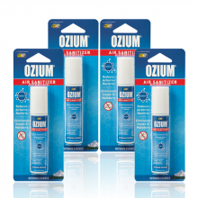 Bình xịt khử mùi Ozium Air Sanitizer Spray 0.8 oz (22g) Outdoor Essence-OZ-31-4packs