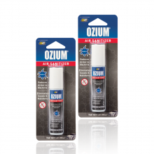Bình xịt khử mùi Ozium Air Sanitizer Spray 0.8 oz (22g) New Car-OZ-22-2packs