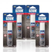 Bình xịt khử mùi Ozium Air Sanitizer Spray 0.8 oz (22g) New Car/OZ-22-4packs