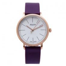 Đồng hồ nữ Julius JA-814LC JU1005 Hàn Quốc dây da (tím)