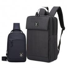 Bộ balo laptop cao cấp và túi đeo messenger cao cấp Praza (BL159DC112)