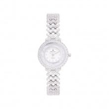 Đồng hồ nữ chính hãng Royal Crown 2606L dây đá vỏ trắng