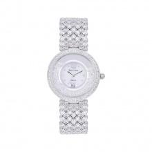 Đồng hồ nữ chính hãng Royal Crown 2606 dây đá vỏ trắng