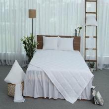 Chăn hè thu thiết kế cotton Grand - 110 x 205 - Trắng