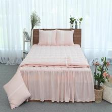 Chăn hè thu thiết kế cotton Grand - 200 x 220 - Hồng