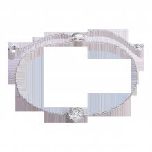 Lắc tay bạc PNJSilver Fantasia đính đá XMXMK000054