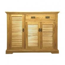 Tủ giầy 3 cánh lá sáchIBV31 gỗ sồi 1m2