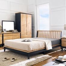 Giường đôi NB-Blue gỗ tự nhiên 1m4