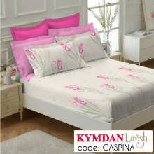 Drap Kymdan Lavish 180 x 200 cm (drap + áo gối nằm) CASPINA