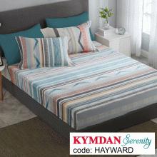 Drap Kymdan Serenity 160 x 200 cm (drap + áo gối nằm) HAYWARD
