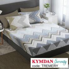 Drap Kymdan Serenity 160 x 200 cm (drap + áo gối nằm) TREMERY