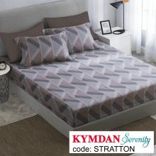 Drap Kymdan Serenity 180 x 200 cm (drap + áo gối nằm) STRATTON