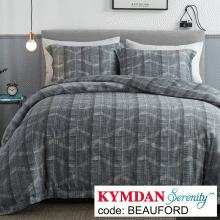 Drap Kymdan Serenity 180 x 200 cm (drap + áo gối nằm + vỏ mền) BEAUFORD