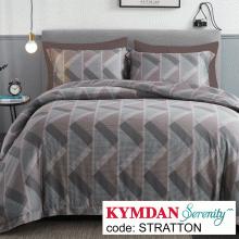 Drap Kymdan Serenity 180 x 200 cm (drap + áo gối nằm + vỏ mền) STRATTON