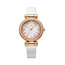 Đồng hồ nữ Julius JA-778D JU1008  Hàn Quốc dây da (trắng)