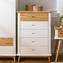 Tủ 5 ngăn kéo Vivid gỗ tự nhiên