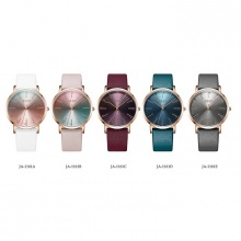 Đồng hồ nữ Hàn Quốc Julius chính hãng dây da JA-1161 (đủ màu)