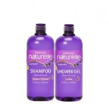 [Combo2d] Dầu gội & gel tắm chiết xuất lavender Farmasi 375ml/chai