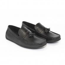 Giày moca da trơn cao cấp Toma GI2MOKA007