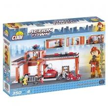 Bộ xếp hình trạm cứu hỏa Cobi - 1466