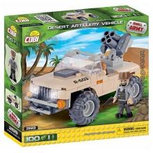 Bộ xếp hình xe pháo binh sa mạc Cobi - 2199