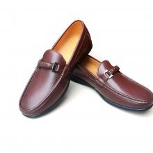 Giày lười nam da bò thật GM05N Geleli