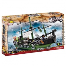 Bộ xếp hình tàu hải tặc ma Cobi - 6017