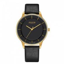 Đồng hồ nam JA-957MB Julius Hàn Quốc dây da (đen)