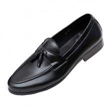 Giày lười tây nam da bò nguyên tấm cao cấp N004F Lucacy