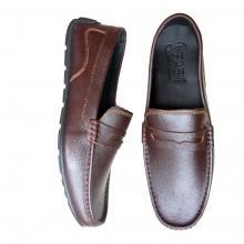 Giày da nam siêu mềm da bò thật GM16CD Geleli