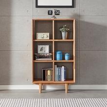 Tủ kệ sách 2x3 ngăn Calla gỗ cao su - Cozino