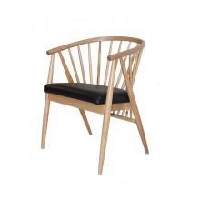 Ghế gỗ cao su Furnist Genny