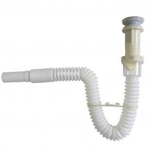 Bộ xả lật Inox ống lò xo linh hoạt Eurolife EL-BXL 01 (Trắng)