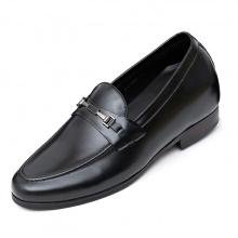 Giày tây nam tăng chiều cao 6cm da bò nguyên tấm cao cấp N0102 Lucacy