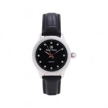 Đồng hồ nữ chính hãng Royal Crown 6424L dây da đen mặt đen