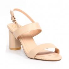 Giày nữ, giày cao gót block heel Erosska thời trang đơn giản tính tế - EM003 (NU)