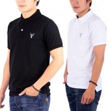 Bộ 2 áo thun nam cổ bẻ chuẩn mọi phong cách pigofashion PG01 (đen, trắng)