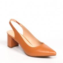 Giày nữ, giày cao gót slingback erosska thời trang nữ kiểu dáng basic _ EH015 (BR)