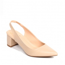 Giày nữ, giày cao gót slingback erosska thời trang nữ kiểu dáng basic _ EH015 (NU)