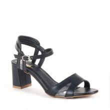 Giày nữ, giày cao gót block heel đế vuông Erosska cao 7cm cách điệu - EM009 (BA)