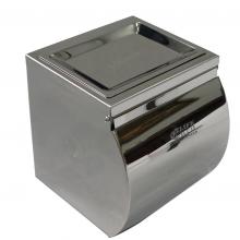 Hộp đựng giấy vệ sinh Inox SUS 304 kèm gạt tàn thuốc Eurolife EL-P06-4 NEW(Trắng bạc)