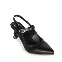 Giày nữ, giày cao gót kitten heels Erosska đế nhọn cao 5 cm phối dây tinh tế thời trang EH018 (BA)