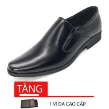 Giày công sở nam da bò cao cấp bảo hành 1 năm N1101M Lucacy-Tặng ví da cao cấp