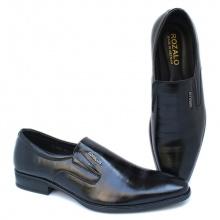 Giày tây công sở kiểu xỏ da bò cao cấp Rozalo R7655