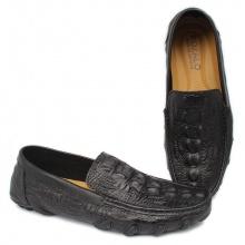 Giày lười nam da cao cấp vân cá sấu Rozalo R6159
